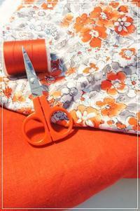 春から活躍しそなワンピースを作ります♡まずは大人用から♫ - ハンドメイドで親子お揃い服 omusubi-five(オムスビファイブ)