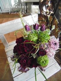 春のアンティークカラー - [花灯-hanabi-] 栃木県宇都宮市の花屋です