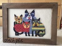 [KATZEN FAMILIE] - 「Stitch +」 haruのクロスステッチ