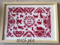 [We Love Cats] - 「Stitch +」 haruのクロスステッチ