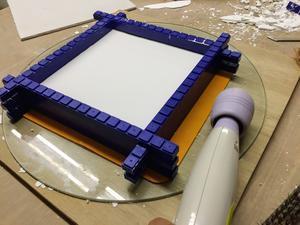 石膏型取り用枠を作ってみた - 器・UTSUWA&陶芸blog