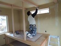 「大屋根中庭の家/岡崎」 ロフトベッド - KANO空感設計のあすまい空感日記