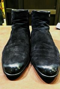 【実験してみた】スエード靴のハイシャイン!? - 銀座三越5F シューケア&リペア工房<紳士靴・婦人靴・バッグ・鞄の修理&ケア>