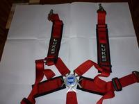 Luke Six point racing harness - White Summer