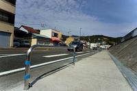 熊野の旅 花火対策かな? 国道四二号線木本地先 - LUZの熊野古道案内