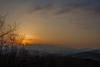 山の夕暮れ@多峰主山 - デジカメ写真集