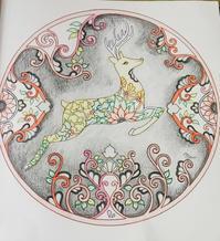 Thank you!! 彩色例の投稿 『ジョハンナからの贈りもの』by しゅうさん - オトナのぬりえ『ひみつの花園』オフィシャル・ブログ