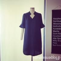 Silk dress - ブリュッセルで洋裁・手芸教室を検討奮闘中