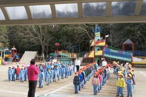 2月24日年中組Bチームラグビー大会 - 美木多幼稚園からのお知らせ