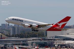 Scene of Sydney #15 - 飛行機写真 ~旅客機に魅せられて~