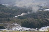 山間の白煙 - 蒸気をおいかけて・・・少年のように