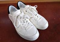 実は簡単なんです!白のスニーカーのお手入れ - 仙台三越5F 靴・シューズ修理工房(シューリペア工房)