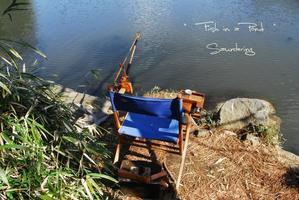 To relax and fish - Sauntering