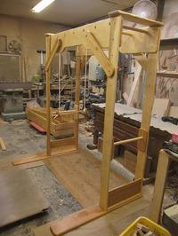 うんていNタイプW1600×H1900×D1140 可動式登り棒2本 ブランコ式ぶら下がり練習棒 - MAGINU STYLE by Art Furniture Gallery