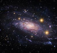 うみへび座の美しい渦巻銀河NGC3621 - 秘密の世界        [The Secret World]