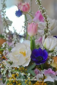 *春らしく・・・* - フラワー&アンティーク Firenze