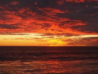 綺麗な夕陽の定番スポット、コテスロービーチ - 南米・中東・ちょこっとヨーロッパのアイスクリーム旅