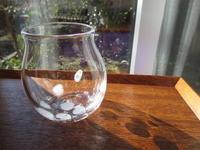 お嫁入り…ひとひらグラス - petit verre journal