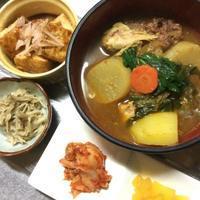 今日の夕食と常備菜(なめ茸イタリアン風) - +you