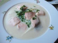 鮭とホワイトアスパラガスのホワイトソース仕立て - やせっぽちソプラノのキッチン2
