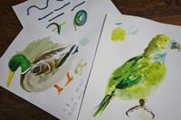 2/22 子供アート教室 ~幸せなことば~ - miwa-watercolor-garden