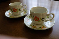 セーエー陶器の可愛いデミタスC&S - ノスタルジア好きが集めた物たち