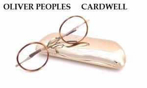 【OLIVER PEOPLES】ブランド初の回転式一山とスライドテンプルを合わせた新モデル「CARDWELL」 - 自由が丘にあるフレンチテイスト眼鏡店ボズューブログ