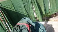 綿 蚊帳 - 古布や麻の葉