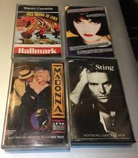 懐かしの80s−90s カセットテープ!入荷しました!MADONNA,STING, L.RONSTADTなど! - ショウザンビル mecca BLOG!!