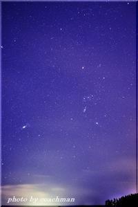 冬の夜空 3 - 北海道photo一撮り旅