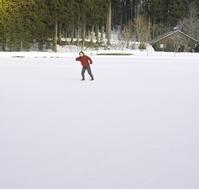 雪原をジョリジョリ、ショリショリ散歩。 - 朽木小川より 「itiのデジカメ日記」 高島市の奥山・針畑郷からフォトエッセイ