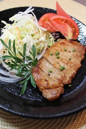 豚の塩麹ソテー - うふふなダイドコ