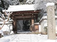 雪の正伝寺 - とりあえず、ぼちぼちと ~第2幕~