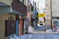 苫小牧(長屋風の建築)新一條通り - 古今東西風俗散歩(町並みから風俗まで)