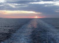 南半球一周の船旅 ペア・タイプ (10)話が弾む大西洋上9日間 - 隠居の話