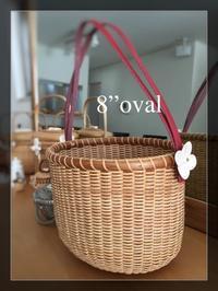 "8""oval - NANTUCKET &KK ナンタケットバスケット制作教室blog♪"