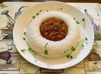 蓮根キーマカレー - カフェ気分なパン教室  ローズのマリ
