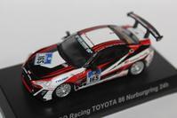 1/64 Kyosho TOYOTA 2 GAZOO Racing TOYOTA 86 Nurburgring 24h - 1/87 SCHUCO & 1/64 KYOSHO ミニカーコレクション byまさーる