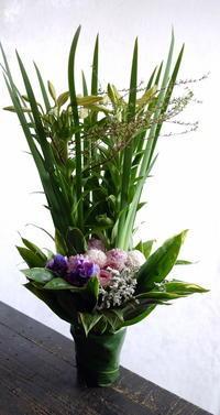 翌日の一周忌に。栄通1にお届け。 - 札幌 花屋 meLL flowers