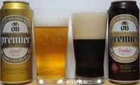 프리미어 오비 맥주(PilsnerとDunkel) - ポンポコ研究所(アジアのお酒)