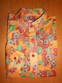 カシュクール風シャツ(オーダー専用) - Ace Blossom ななの布らいふ