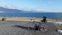 琵琶湖へ - 近江ポタレレ日記(琵琶湖)自転車二人旅