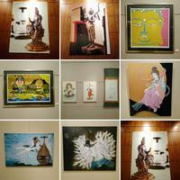 「心に響く 現代の仏像・仏画展」 から - 一意専心のシャッターを!