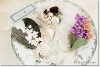 fleuretteさんの布花アクセサリーのご紹介です* - Ange(アンジュ) - 小林市の雑貨屋 -
