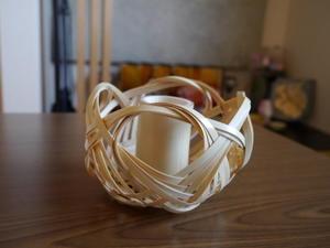 竹かご「四海波」 - Rosa