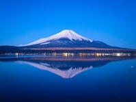 2017.2.26 逆さ富士3枚(山中湖) - ダイヤモンド△△追っかけ記録