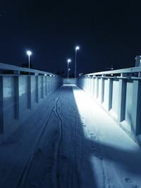 夜の雪 - 行く当てのない言葉