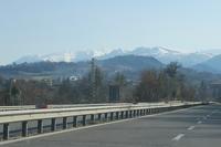 美しき被災の山、雪のシビッリーニ山脈 - ペルージャ イタリア語・日本語教師 なおこのブログ - Fotoblog da Perugia