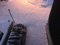 【冬の最後のあがき? 雪かき1日3回デー】 - 性能とデザイン いい家大研究