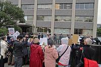 安倍晋三記念小学校いらない MX「ニュース女子」抗議行動7 - ムキンポの exblog.jp